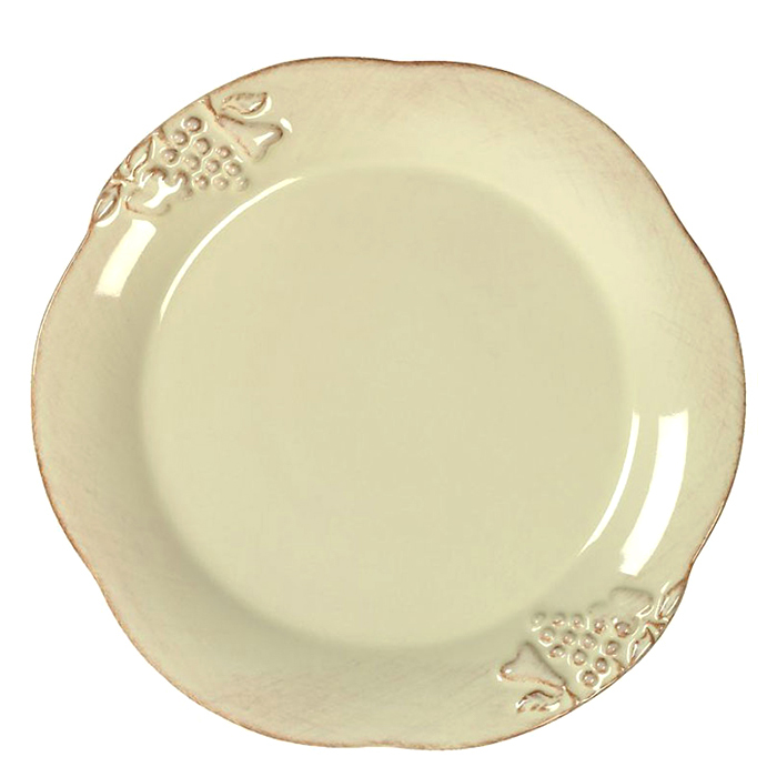 Тарелка для салата Costa Nova Mediterranea бежевая 21см