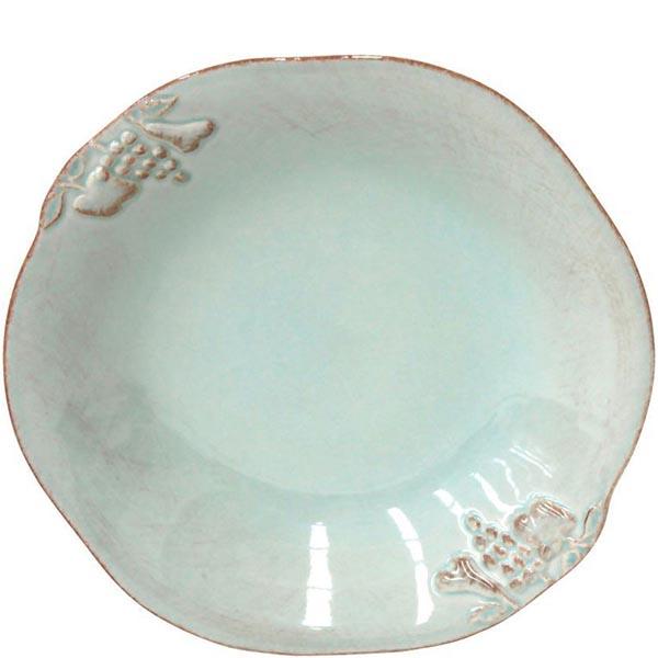 Набор из 6 тарелок для супа Costa Nova Mediterranea голубого цвета 570мл