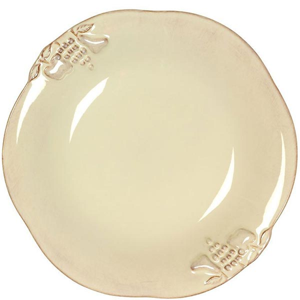Набор из 6 тарелок для супа Costa Nova Mediterranea бежевый 570мл