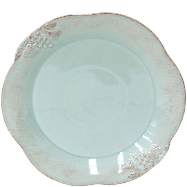 Набор из 6 тарелок Costa Nova Mediterranea голубого цвета 30см
