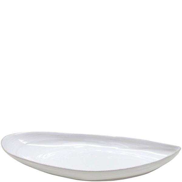 Овальное блюдо Costa Nova Aparte 31х14см белого цвета