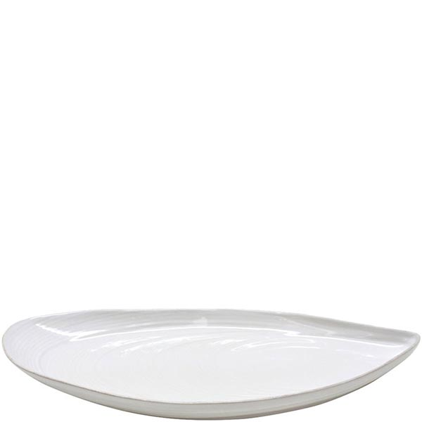 Блюдо овальное Costa Nova Aparte 45.5х21см белое