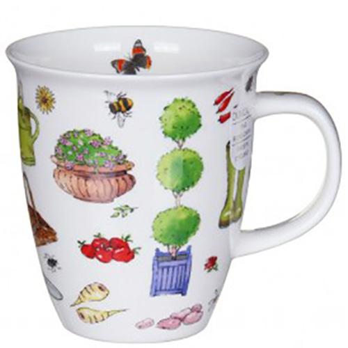 Чашка Dunoon Nevis Gardening Time Резиновые сапоги