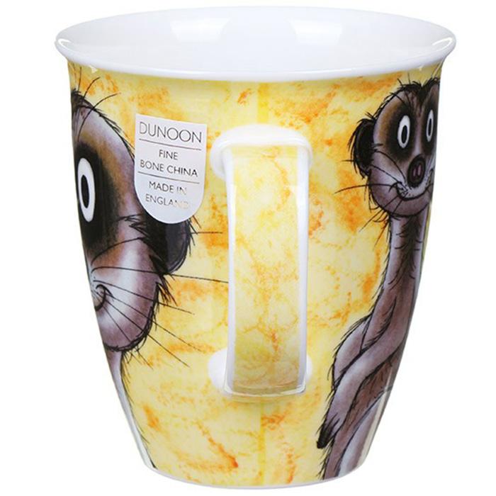 Чашка Dunoon Nevis Go Wild Meerkat