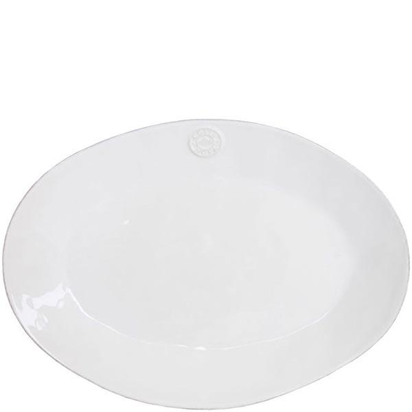 Блюдо овальное белое Costa Nova Nova 29х21.4см
