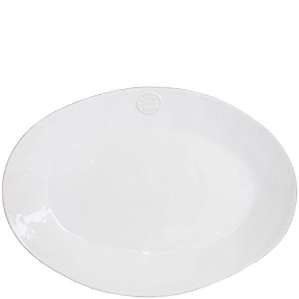 Блюдо овальное белое Costa Nova Nova 40х28.3см