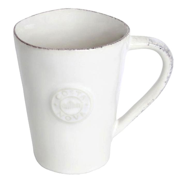 Белая чашка Costa Nova Nova 360мл