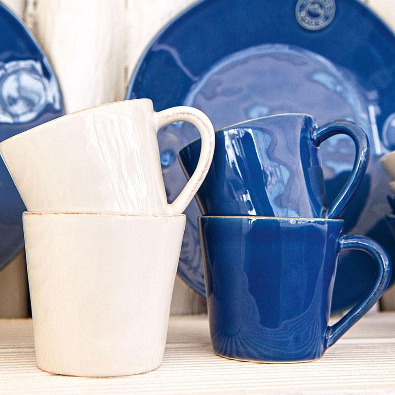 Кофейный набор Costa Nova Nova синего цвета 6шт