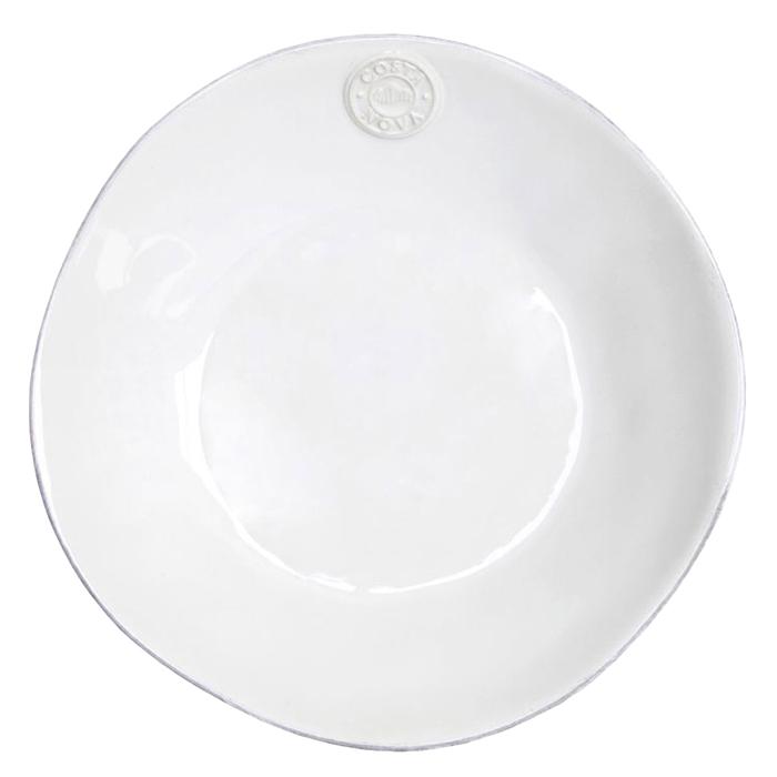 Тарелка для супа Costa Nova Nova белого цвета 790мл