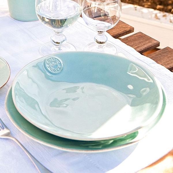 Набор из 6 тарелок для супа Costa Nova Nova голубого цвета 790мл