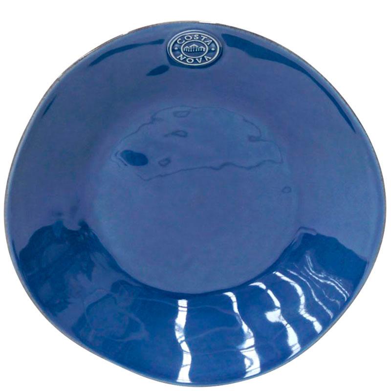 Набор из 6 тарелок для супа Costa Nova Nova синего цвета