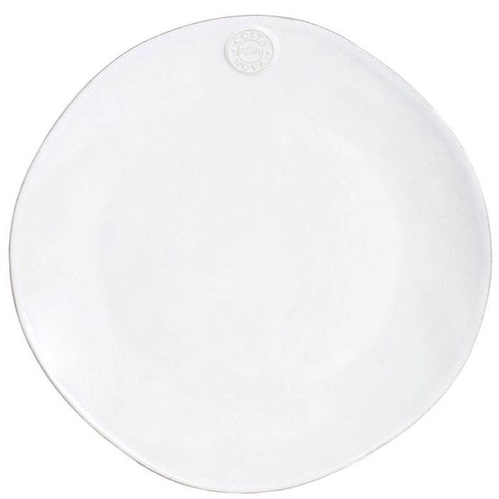 Керамические блюда Costa Nova Nova белого цвета 6 шт