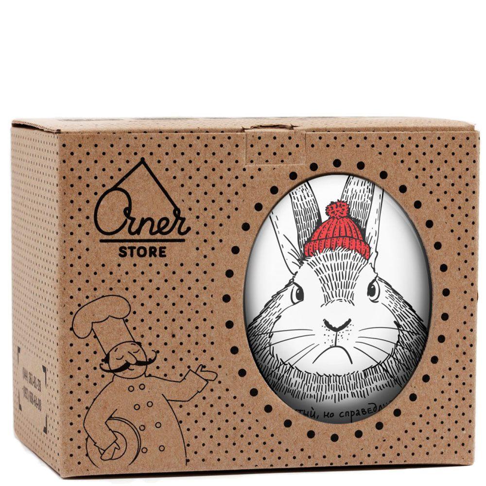 Чашка Orner Store Пушистый-справедливый кролик