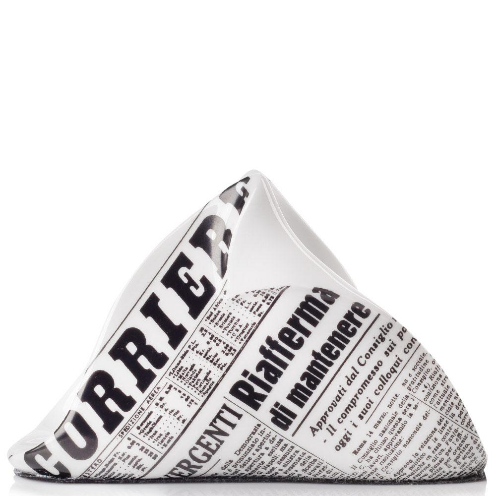 Подставка под салфетки Fornasetti Giornale с принтом Газета