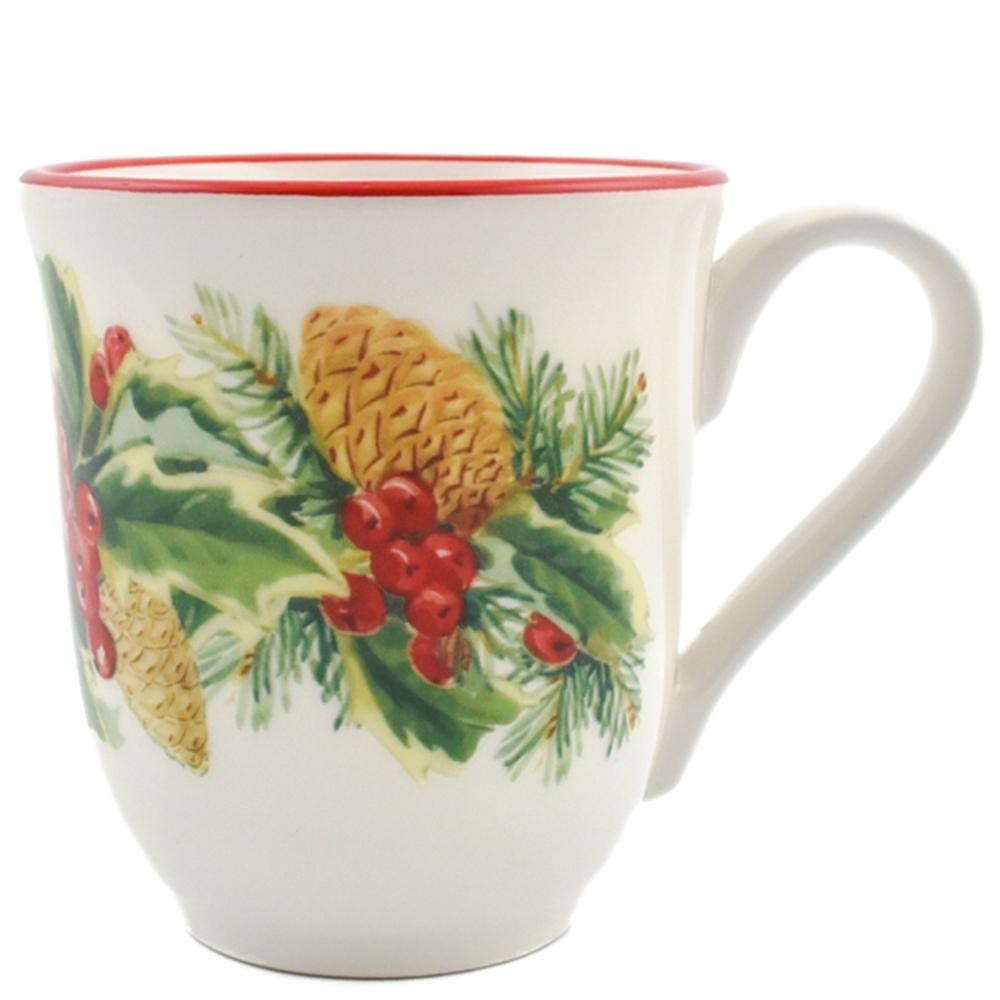Чашка Villa Grazia Зимний букет