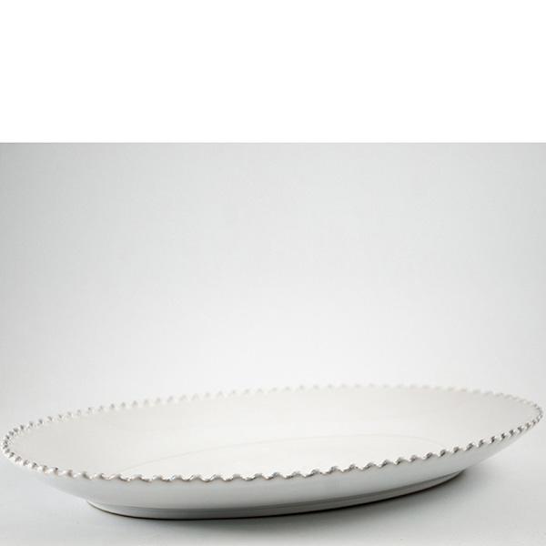 Блюдо для утки овальное Costa Nova Pearl 40см