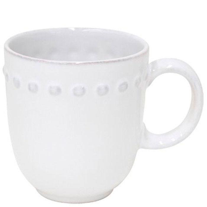 Белая чашка Costa Nova Pearl для чая