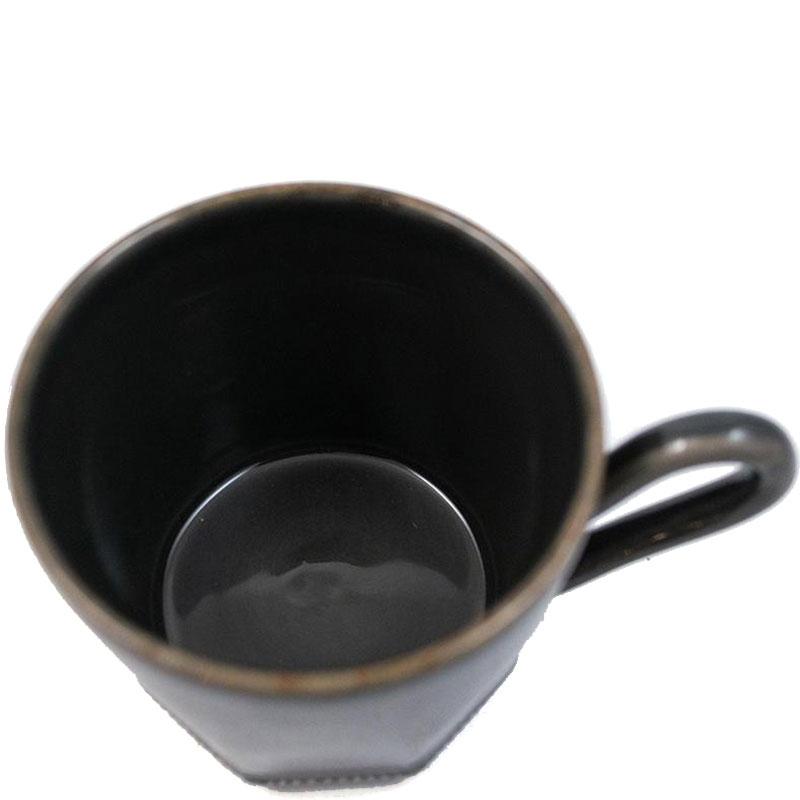 Чашка Costa Nova Luzia Greste темно-серая 340мл