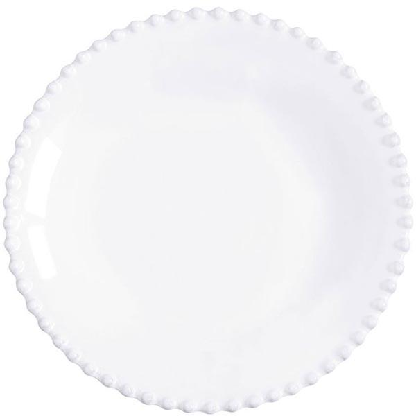 Набор из 6 ти тарелок для супа Costa Nova Pearl белого цвета 24см