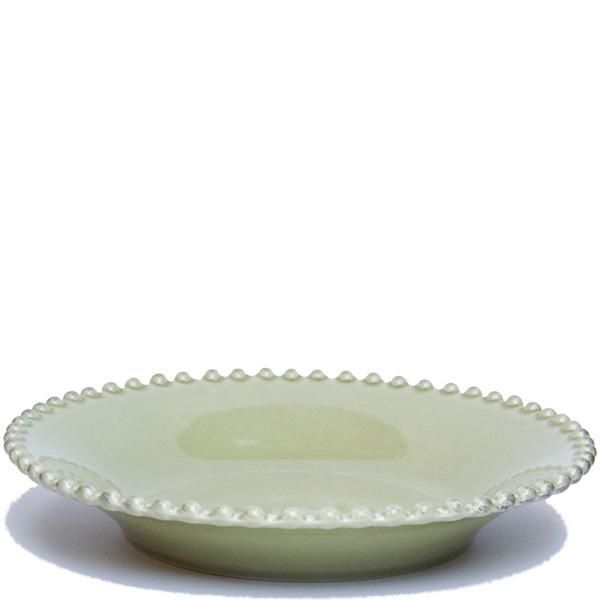 Тарелка для супа Costa Nova Pearl зеленая 24см