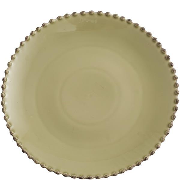 Тарелка обеденная 28см Costa Nova Pearl зеленая