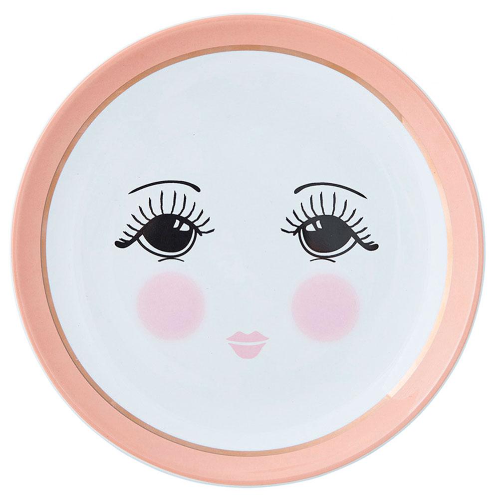 Тарелка из керамики Miss Etoile Open eyes
