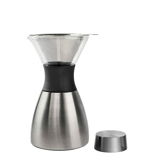 Кофеварка Asobu Pour Over серебристая