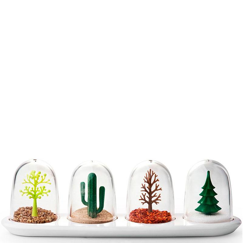 Набор для специй Qualy Four Seasons