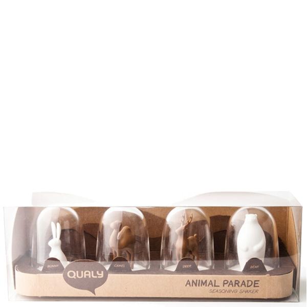 Набор для хранения специй Qualy Animal Parade