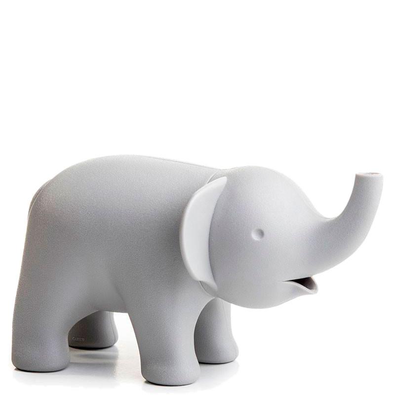 Сахарница Qualy Слон серого цвета