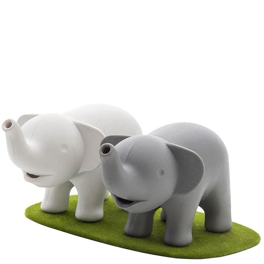 Набор из солонки и перечницы Qualy Elephant