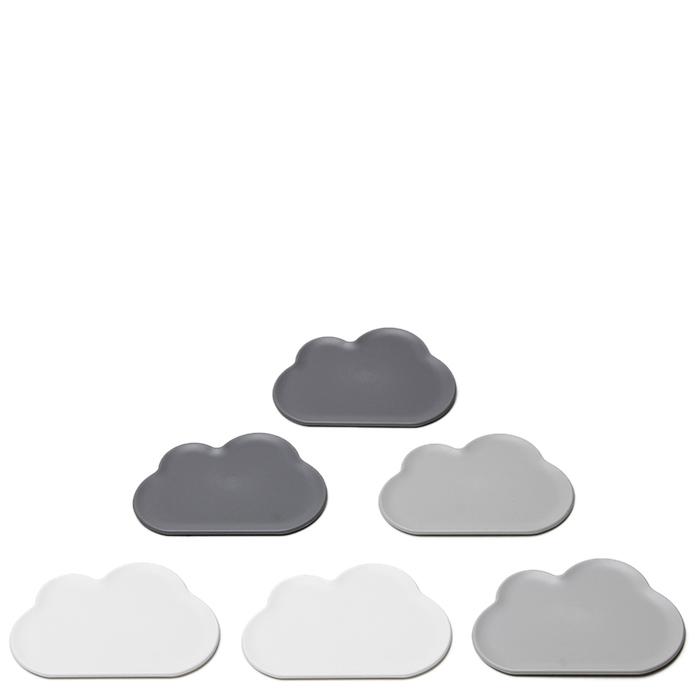 Костеры Qualy Cloud 6шт