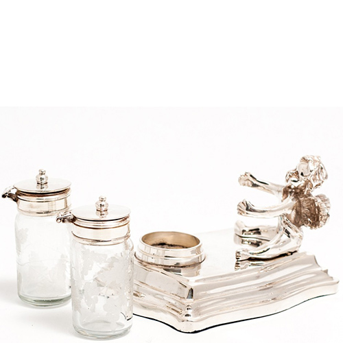 Набор для соли и перца Royal Family Шеффилд с резным узором