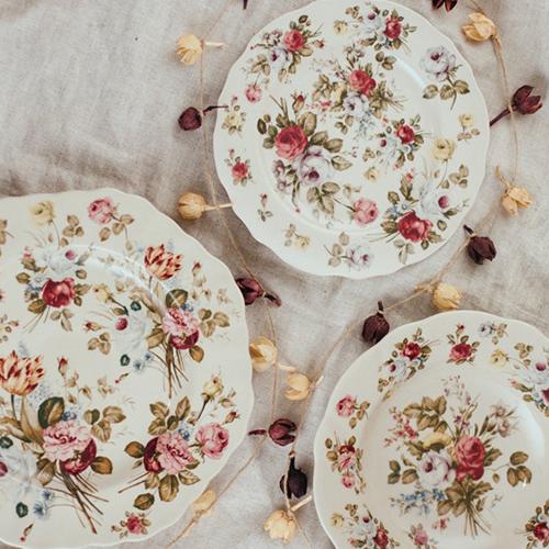 Тарелка глубокая Royal Family Sweet England в стиле Прованс