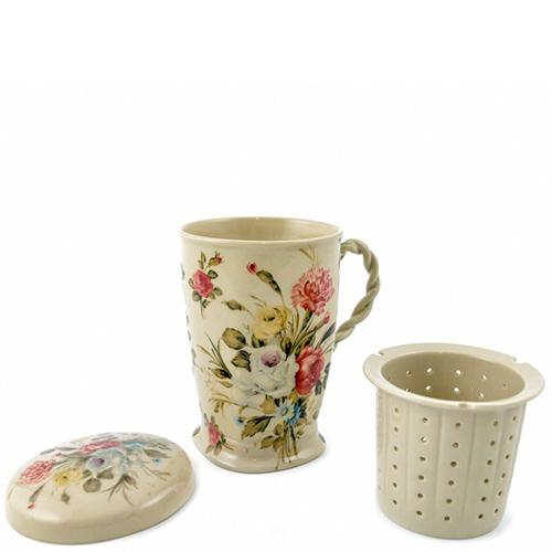 Чашка заварная Royal Family Sweet England с крышкой