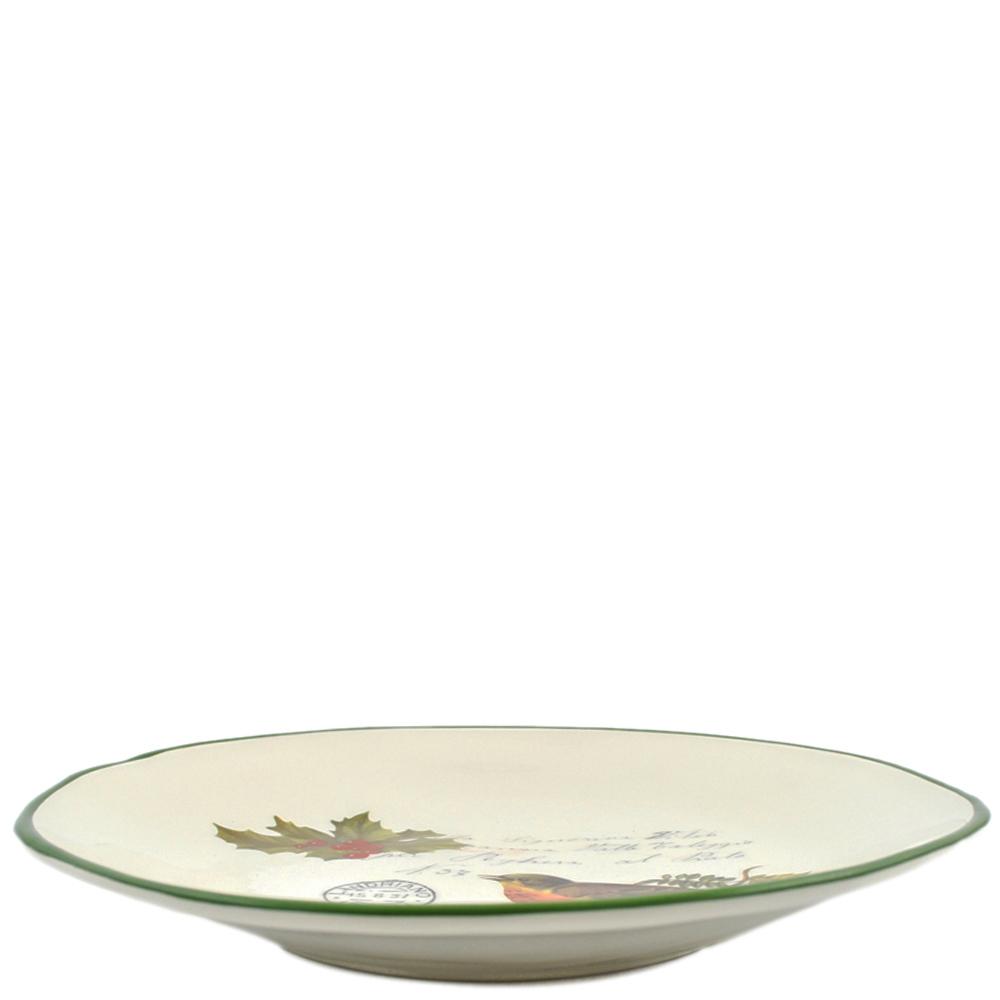 Набор обеденных тарелок Villa Grazia Рождественская трель на 6 персон