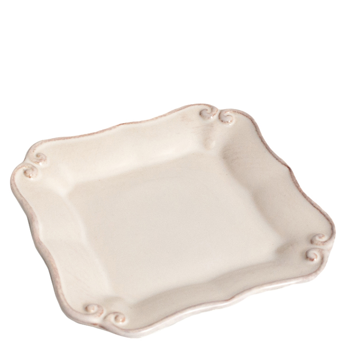 Тарелка Costa Nova Barroco белого цвета 14х14см