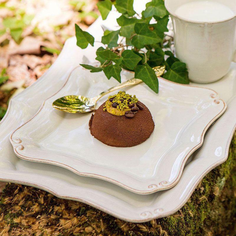 Десертная тарелка Costa Nova Barroco квадратная 20см