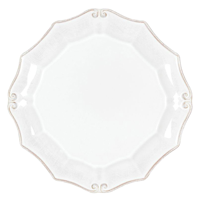 Тарелка для салата Costa Nova Barroco белого цвета 21см