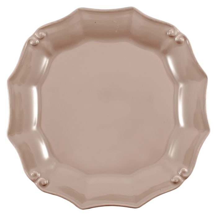 Тарелка для салата Costa Nova Barroco коричневого цвета 21см