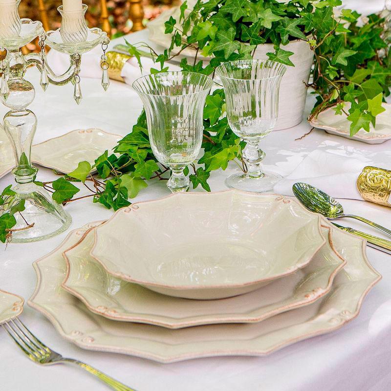 Суповая тарелка Costa Nova Barroco из белой керамики