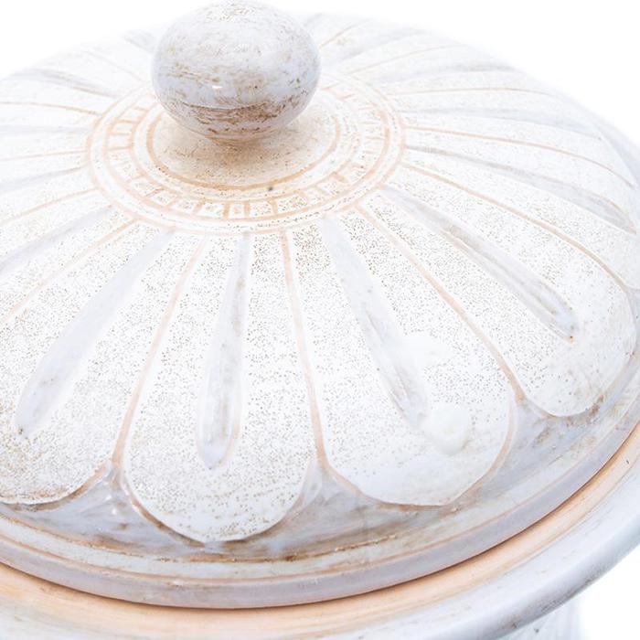 Емкость для хранения L'Antica Deruta Scalfito с орнаментом
