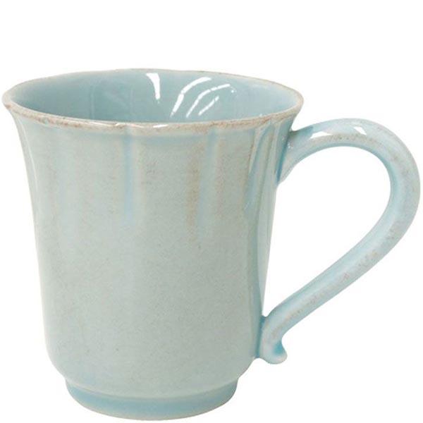 Набор из 6 чашек для чая Costa Nova Alentejo голубого цвета 320мл