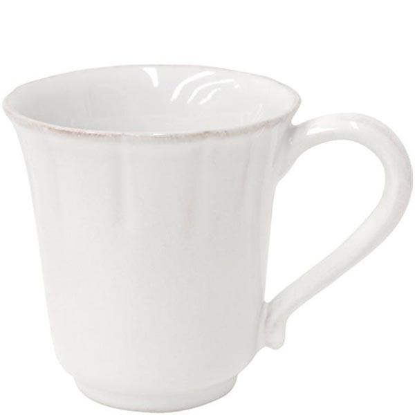 Набор из 6 чашек для чая Costa Nova Alentejo белого цвета 320мл