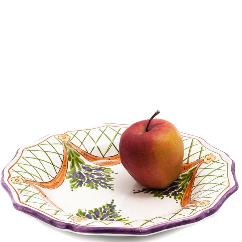 Набор тарелок L'Antica Deruta Glicine