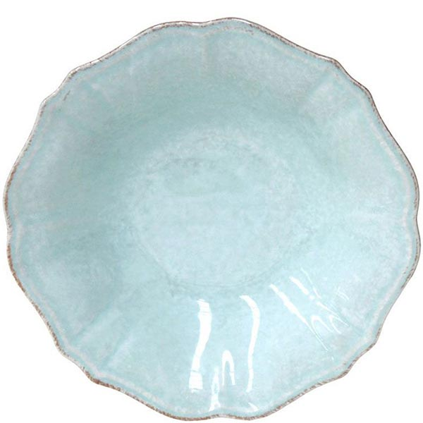 Набор из 6 тарелок для супа Costa Nova Impressions голубого цвета 520мл