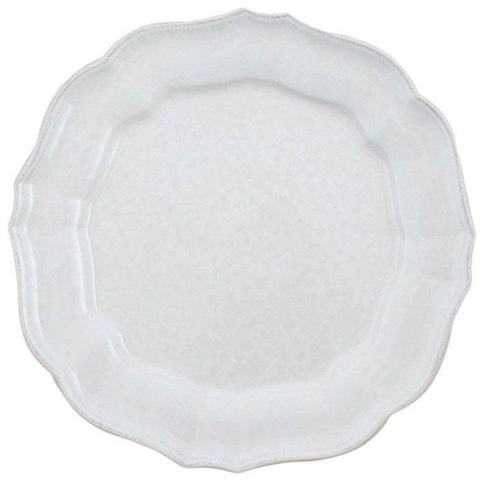 Белая тарелка Costa Nova Impressions из керамики