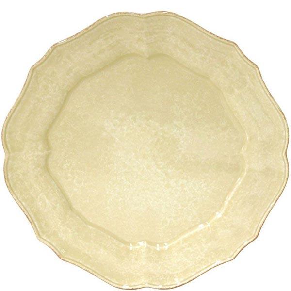 Блюдо Costa Nova Impressions 34см желтого цвета