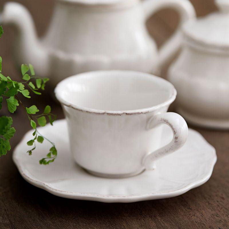 Чайная чашка с блюдцем Costa Nova Impressions
