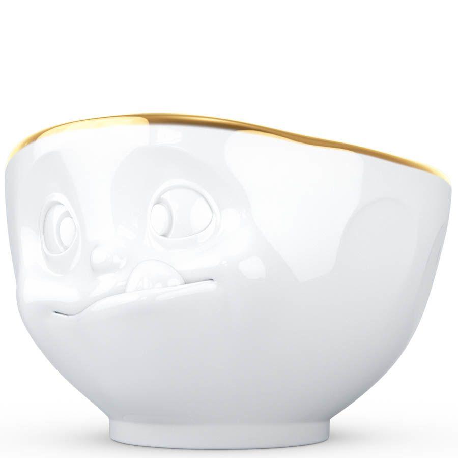 Пиала Tassen Tasty белая с золотой каёмкой